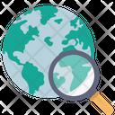 Global Search Global World Icon