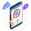 Mobile Search Global Search Global Analysis Icon