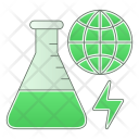 Search Global Green Icon
