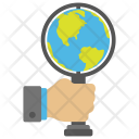 Global Search Earth Icon