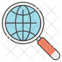 Global Searching Icon