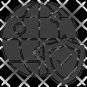 Lock Design Safety Icon