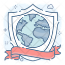 Network Protection Network Security Global Security Icon