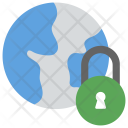 Global Security Concept Icon