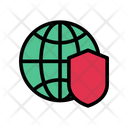 Global Security Internet Icon