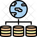 Global Servers Storage Icon