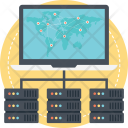 Global Server Network Icon