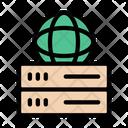 Server Global Storage Icon