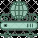 Globe Router Icon