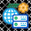 Global Settings Digital Icon