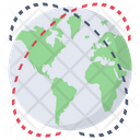 International Business Global Services Global Network Icon