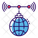 Global Services International Network Wifi Network Icon