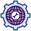 Global Services Development Gear Icon