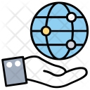 Global Services World Icon