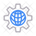 Global Online Setting Icon