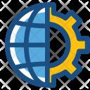 Global Setting Internet Icon