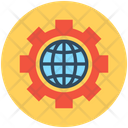 Global Settings Global Solution Globalization Icon