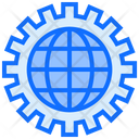 Global Settings Global Configuration Globe Setting Icon