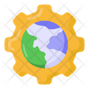 International Setting Global Settings Global Management Icon