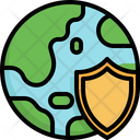 Shield Mother Earth Day Save The World Icon