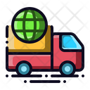 Global Shipment Icon