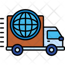 Iglobal Shipping Global Shipping Global Delivery Icon