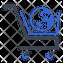 Global International Shopping Icon