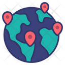 Global Logistics Delivery Icon