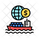 Ship Transportation Color Icon