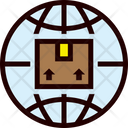 Global Shipping Delivery Icon