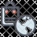 Global Shopping Icon