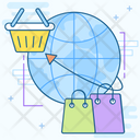 Global Shopping Icon