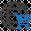 Global Shopping Shopping Cart Icon