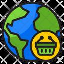 Global Shopping Global World Icon