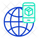 Global Shopping Application Icon