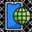 Global Smartphone Icon