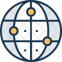 Global Solution Globe Icon