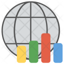 Global Statistics Data Icon