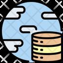 Internet Big Data Storage Icon