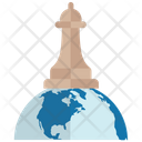 Global Strategy Business Strategy Management Strategy Icon