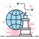 Global Strategy Icon