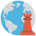 Global Strategy Integration Icon