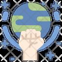 Global Strike Climate Icon