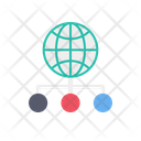Global Structure Global Connection Global Network Icon