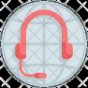 Global Worldwide Customer Icon