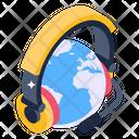Worldwide Support Global Support Global Helpline Icon