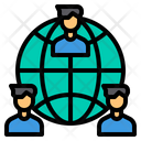 Worldwide Network Team Icon