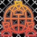 Worldwide Network Team Icon