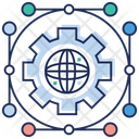 Global Solutions Global Network Global Programme Icon