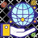 Global Network Www Global Technology Icon